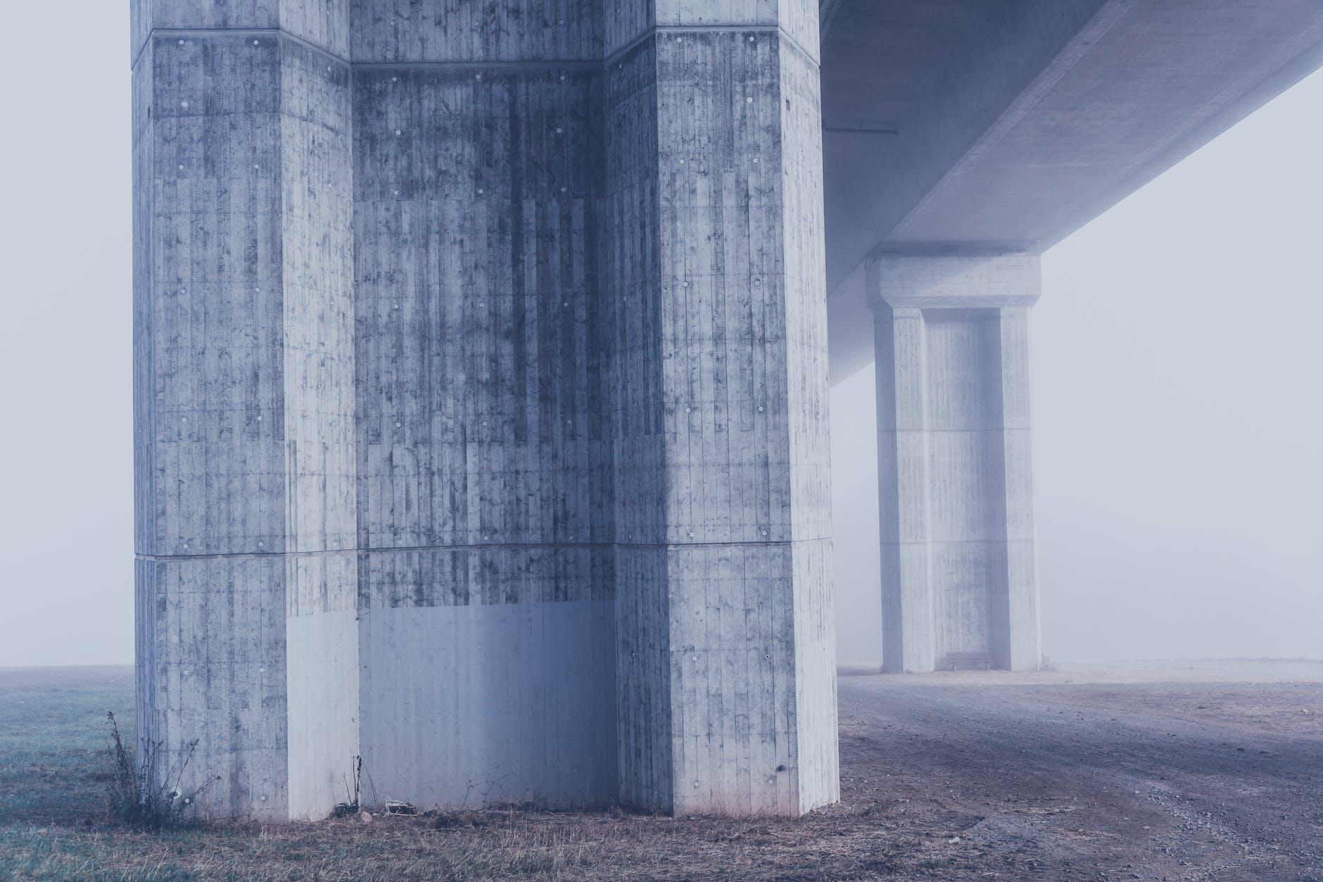 Beton na słupy, filary